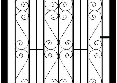 Malwood side gate
