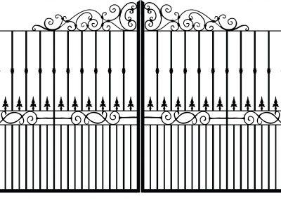 Norfolk estate gates