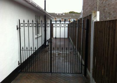Nottingham entrance gates