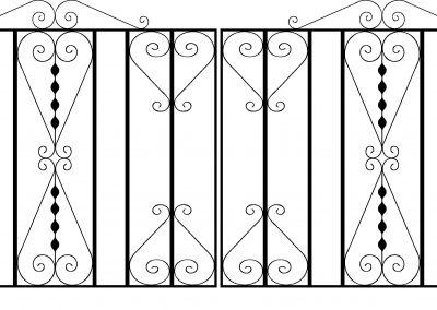 Pitsea driveway gates