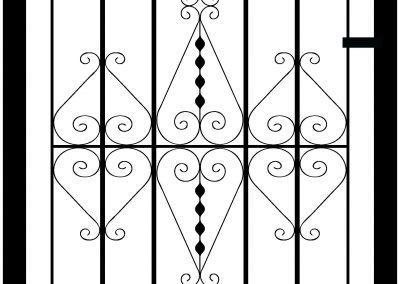 Pitsea flat top side gate
