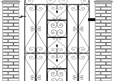 Reddington bow top side gate