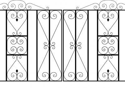 Reddington driveway gates