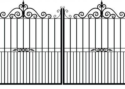 Sherwood estate gates