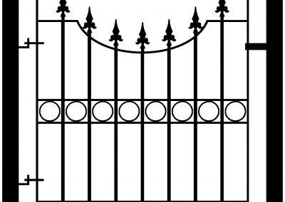 Windsor bump top pedestrian gate
