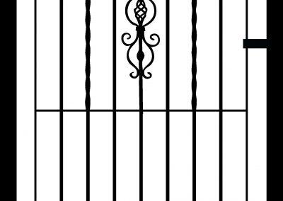 Kingston flat top side gate