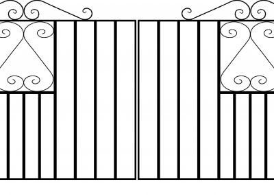 Southgate driveway gates