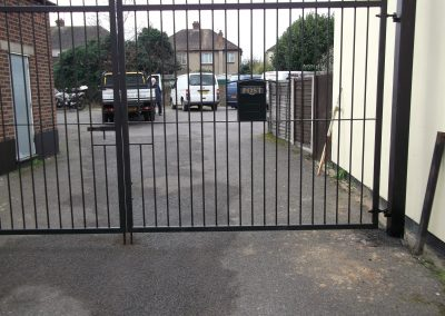 Straight bar security gates 3
